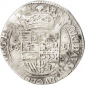 SPANISH NETHERLANDS, Escalin, 1621, Brussels, KM:47.2, TTB, Silver