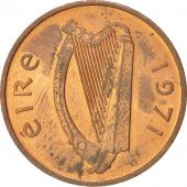 IRELAND REPUBLIC, Penny, 1971, SUP+, Bronze, KM:20