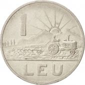 Roumanie, Leu, 1963, TTB+, Nickel Clad Steel, KM:90