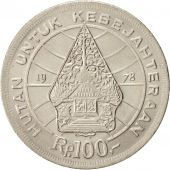 Indonesia, 100 Rupiah, 1978, MS(64), Copper-nickel, KM:42