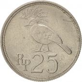 Indonesia, 25 Rupiah, 1971, AU(50-53), Copper-nickel, KM:34