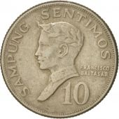 Philippines, 10 Sentimos, 1972, TTB, Copper-nickel, KM:198