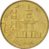 KOREA-SOUTH, 10 Won, 1979, SUP, Brass, KM:6a