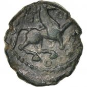 Bellovaci, Area of Beauvais, 1/4 Stater, EF(40-45), Bronze, Delestré:287