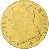 France, Louis XVI, Louis dor � la t�te nue, 1786, Paris, VF(30-35), Gadoury:361