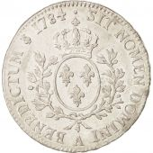 France, Louis XVI, �cu aux branches dolivier, 1784, Paris, AU(50-53), KM:564.1