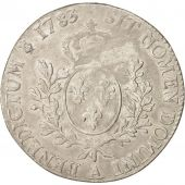 France, Louis XVI, �cu aux branches dolivier, 1783, Paris, AU(50-53), KM:564.1