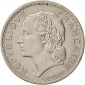 France, Lavrillier, 5 Francs, 1938, Paris, SUP, Nickel, KM:888, Gadoury:760