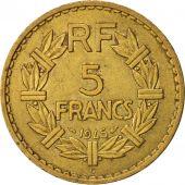 5 francs lavrillier france paris 20-25 aluminum-bronze coin 1946 vf