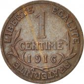 France, Dupuis, Centime, 1916, Paris, TTB+, Bronze, KM:840, Gadoury:90
