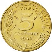 Fifth Republic, 5 Centimes Marianne, 1988, KM 933