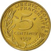 Fifth Republic, 5 Centimes Marianne, 1997, 4 folds, KM 933