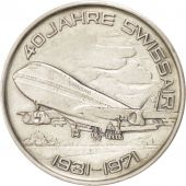 40th Swissair anniversary, Token