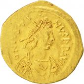 Justin II (565-578), Tremissis, Constantinople, EF(40-45), Gold