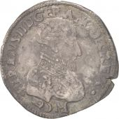 France, François II, Teston, 1559, Bordeaux, EF(40-45), Silver, Sombart:4566