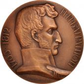 Russia, General Bagration birth Bicentenary, Medal, AU(50-53), Copper, 96mm