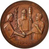 Switzerland, Swiss charity society, Medal, 1941, AU(50-53), Copper, 41mm