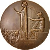 Austria, Arts & Culture, Medal, 1911, AU(50-53), Bronze, 75mm