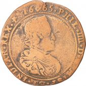 Pays-Bas, Spanish Netherlands, Philippe IV, Token, 1665, TB+, Copper, 31