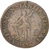 France, Religion, Token, 1576, TB+, Copper, 27