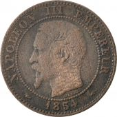 Second Empire, 2 Centimes Napoléon III, 1854 A (Paris), KM 776.1
