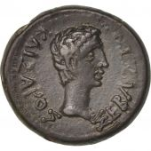 Augustus, Half Unit, 11AC - 12 AD, Thrace, SUP, Copper
