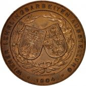 Austria, VIenna apprentice exhibition, Medal, 1904, AU(50-53), Bronze, 47mm