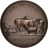 Austria, Vienna Agriculture Society, Medal, 1823, AU(50-53), Bronze, 56mm