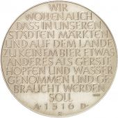 Germany, Bier protection law, Medal, 1960, AU(55-58), Bronze, 40mm