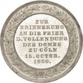 Germany, Cöln, Religions & beliefs, Medal, 1880, AU(55-58), Tin, 30mm