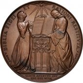 Switzerland, Geneva reformation 300th anniversary, Medal, 1835, AU(55-58)