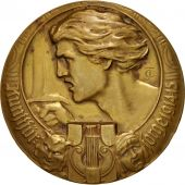 Allemagne, Politics, Society, War, Medal, 1915, SUP, Bronze, 49mm