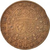 France, Royal, Token, 1636, TTB, Copper, 27