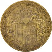 France, Royal, Token, 1638, TTB, Brass, 27