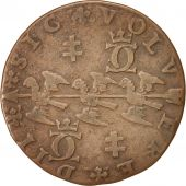 France, Token, 1577, TTB, Copper, 26, Feuardent:7468
