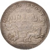 France, Royal, Prise dArras, Louis XIV, Token, 1655, AU(50-53), Silver, 27mm