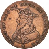 United Kingdom , Great-Britain, Lancaster Halfpenny, Token, 1794, TTB+, Cuivr...