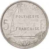 French Polynesia, 5 Francs, 1965, Non Applicable, TTB, Aluminum, KM:4