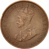 Australie, George V, 1/2 Penny, 1916, Non Applicable, SUP, Bronze, KM:22