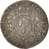 France, 1/20 Ecu, 1779, Paris, EF(40-45), Silver