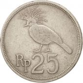 Indonésie, 25 Rupiah, 1971, Non Applicable, TTB, Copper-nickel, KM:34