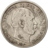 German States, PRUSSIA, Wilhelm I, 2 Mark, 1876, Cleves, EF(40-45), Silver