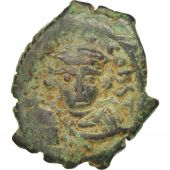 Constans II 641-668, Follis, Constantinople, EF(40-45), Copper