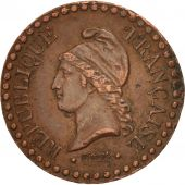 France, Dupré, Centime, 1848, Paris, TTB, Bronze, KM:754
