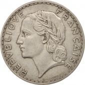 France, Lavrillier, 5 Francs, 1933, Paris, TTB+, Nickel, KM:888, Gadoury:760