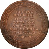 United Kingdom , Great-Britain, Wellingtons victory at Salamanca, 1812, Token