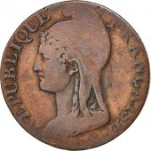 France, Dupré, 5 Centimes, 1795, Paris, TB, Bronze, KM:635.1, Gadoury:124