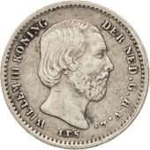 Pays-Bas, William III, 5 Cents, 1863, TTB+, Argent, KM:91