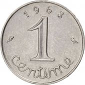 France, Épi, Centime, 1963, Paris, TTB+, Stainless Steel, KM:928, Gadoury:91