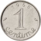France, Épi, Centime, 1968, Paris, TTB+, Stainless Steel, KM:928, Gadoury:91